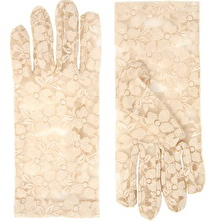 ASOS Nude Lace Gloves