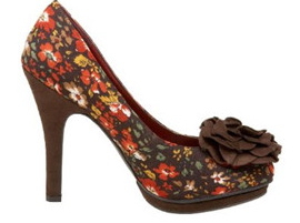 Madden Girl by Steve Madden Women's Flower Accent Floral Pumps