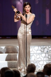 Sandra Bullock wins Best Actress