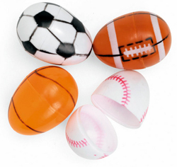 Sports Ball Easter Eggs