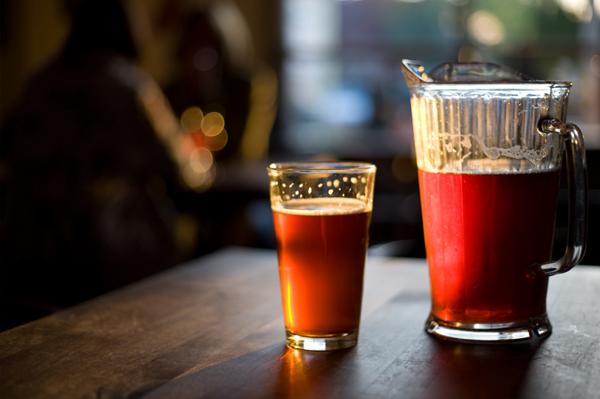 Light, refreshing springtime beers