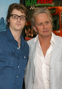 Michael Douglas and Cameron Douglas