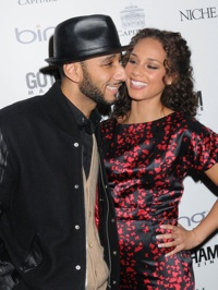 Alicia Keys and Swizz Beats