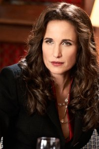 Andie MacDowell in The Front