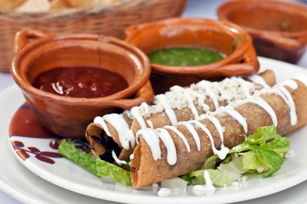 Beef Stuffed Taquitos