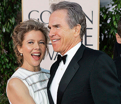 Annette Bening and Warren Beatty: top celebrity couple