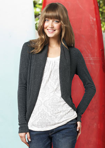 4. Lianna Brushed Cocoon Cardigan from Delia's ($39.50)