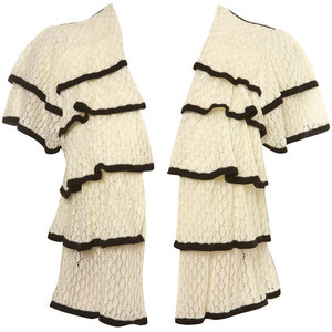 2. Ruffle Tiered Cardigan from Miss Selfridge ($48)