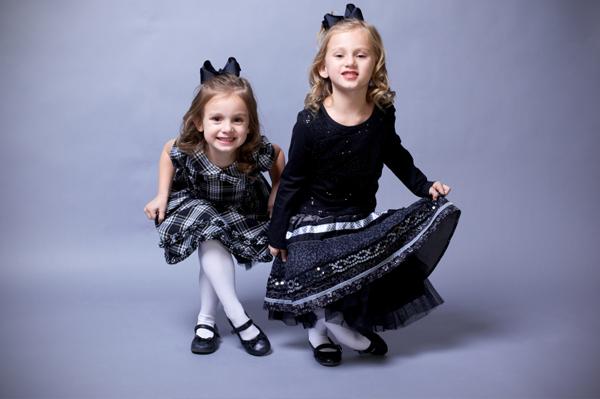 Curtseying Little Girls