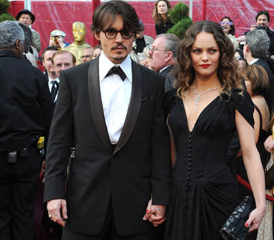Johnny Depp and Vanessa Paradis: top celebrity couple