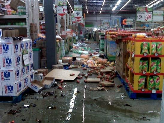 7.2 earthquake shakes it up
