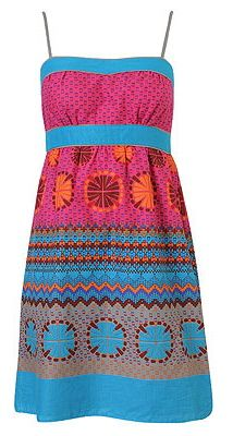 Fiestada Empire Waist Sundress