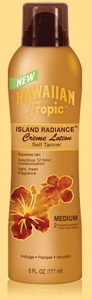 Hawaiian Tropic Island Radiance™ Self Tanner – Medium Crème Lotion