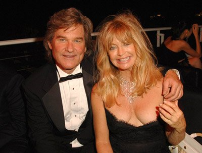Goldie Hawn and Kurt Russell: top celebrity couple