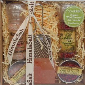 HimalaSalt and Pepper Grinder Gift Set