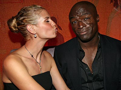 Seal and Heidi Klum: top celebrity couple