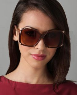 Lulu's Suite Life Sunglasses in Bronze
