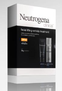 Neutrogena's Ion2 Complex Facial Lifting Wrinkle Treatment
