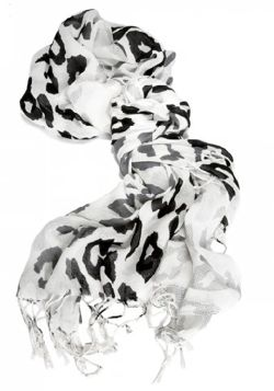 The Limited's Mixed Print Cheetah Scarf