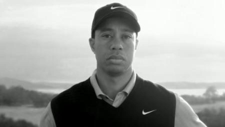 Woods' father speaks from grave