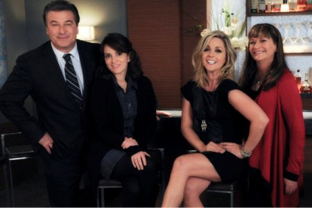 Tina Fey and the cast of 30 Rock