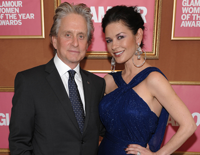 Catherine Zeta Jones and Michael Douglas: top celebrity couple