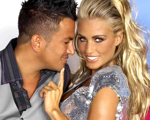 Katie Price and Peter Andre: bad celebrity couple