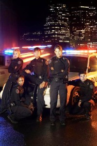 The women of Rookie Blue