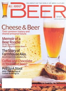 Subscription to All About Beer magazine