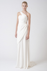 Grecian Goddess gown from Vera Wang
