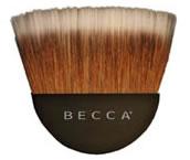 Becca half moon bronzer brush