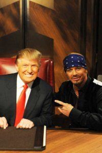 Bret Michaels and Donald Trump