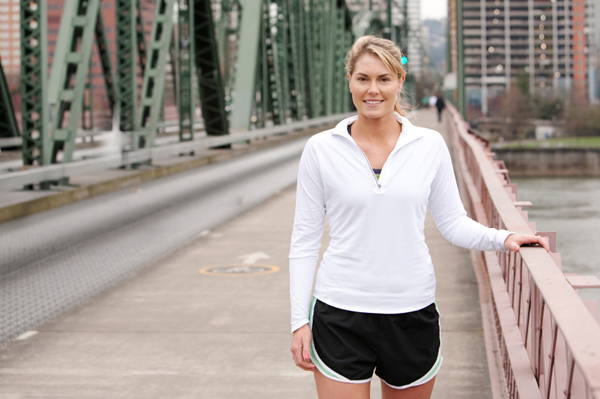 Fit woman in Portland