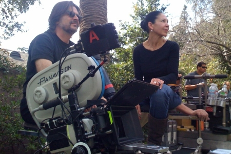 Kim Moses directing Ghost Whisperer