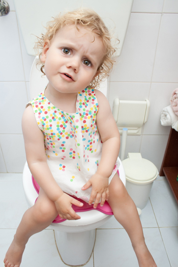 dealing with potty training regressions