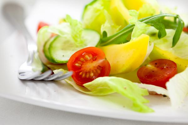 Mango, Cucumber, Salad