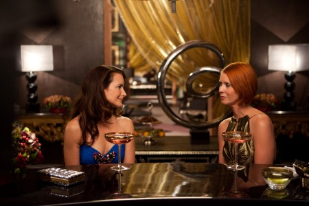 Kristin Davis and Cynthia Nixon in Sex and the City 2