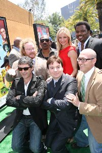 The cast of Shrek Forever After