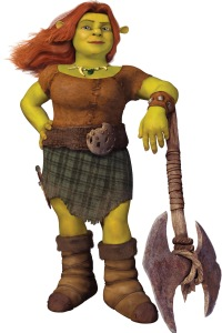 Cameron Diaz is Fiona in Shrek