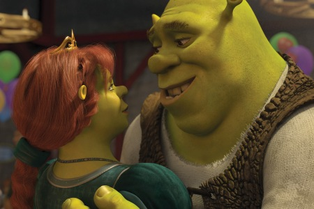 Shrek Forever After stars Cameron Diaz and Mike Myers