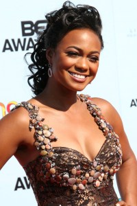 Tatyana at the BET Awards