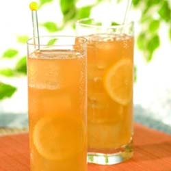 Long Peach Iced Tea