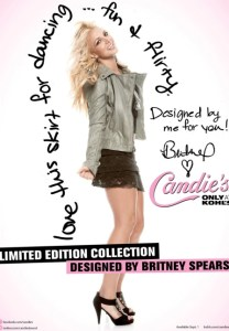 Britney Spears designs for Candie's