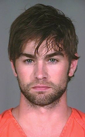Chace Crawford busted