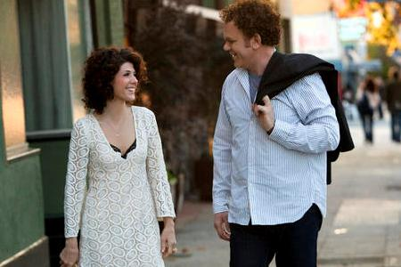 Marisa Tomei and John C Reilly in Cyrus