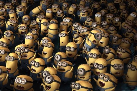 Steve Carell's minions