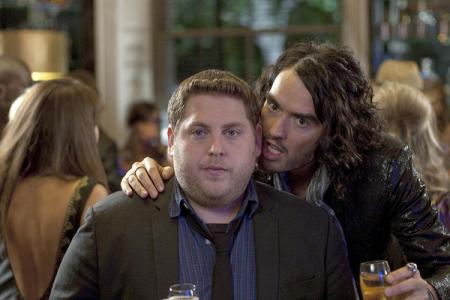 Jonah Hill and Russell Brand in Get Him to the Greek