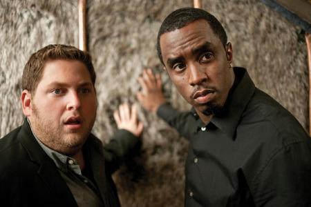 P Diddy and Jonah Hill in Get Him to the Greek