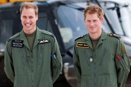 Prince Wiliam and Prince Harry