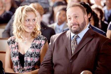 Maria Bello and Kevin James in Grown Ups